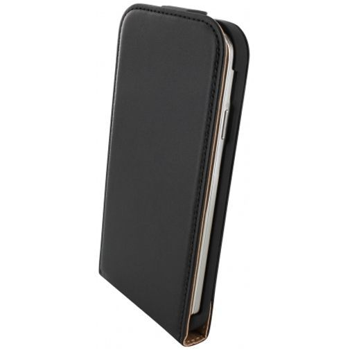 Productafbeelding van de Mobiparts Essential Flip Case Black Samsung Galaxy S4