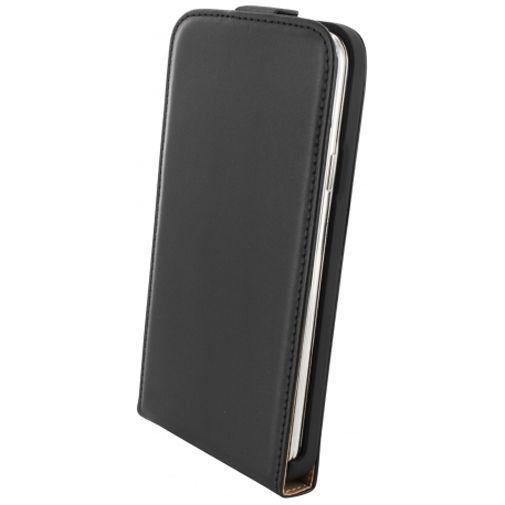 Productafbeelding van de Mobiparts Essential Flip Case Black Samsung Galaxy S5/S5 Plus/S5 Neo