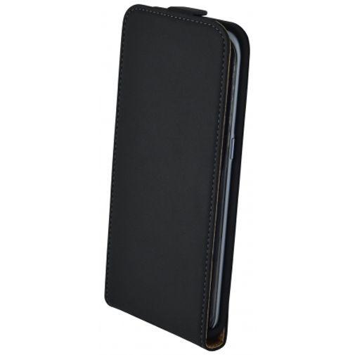 Productafbeelding van de Mobiparts Essential Flip Case Black Samsung Galaxy S7 Edge