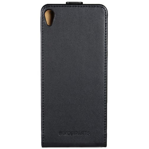 Productafbeelding van de Mobiparts Essential Flip Case Black Sony Xperia XA
