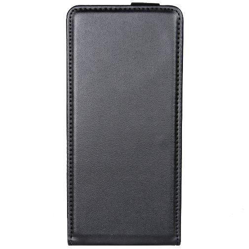 Productafbeelding van de Mobiparts Essential Flip Case Black Sony Xperia X