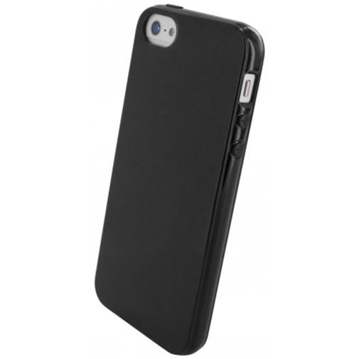 Productafbeelding van de Mobiparts Essential TPU Case Black Apple iPhone 5/5S/SE