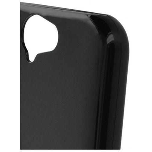 Productafbeelding van de Mobiparts Essential TPU Case Black HTC One A9