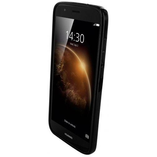 Productafbeelding van de Mobiparts Essential TPU Case Black Huawei G8