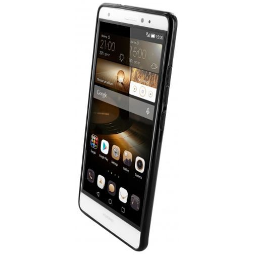 Productafbeelding van de Mobiparts Essential TPU Case Black Huawei Mate S