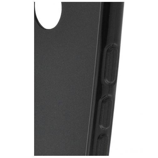 Productafbeelding van de Mobiparts Essential TPU Case Black Huawei Nexus 6P