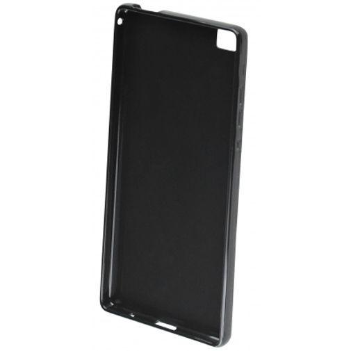 Productafbeelding van de Mobiparts Essential TPU Case Black Huawei P8 Max