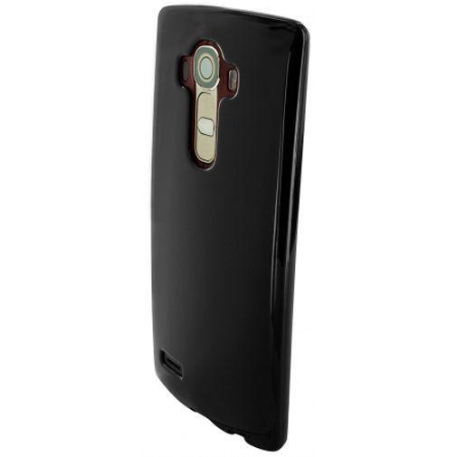 Productafbeelding van de Mobiparts Essential TPU Case Black LG G4