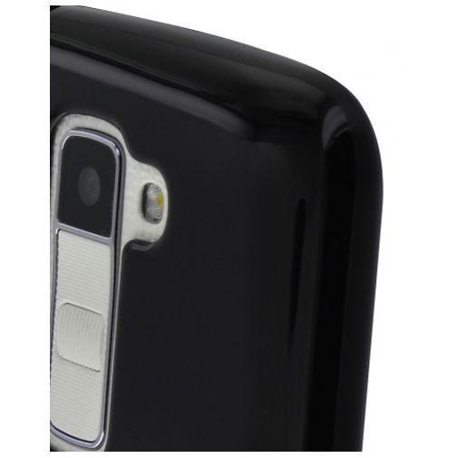 Productafbeelding van de Mobiparts Essential TPU Case Black LG K10