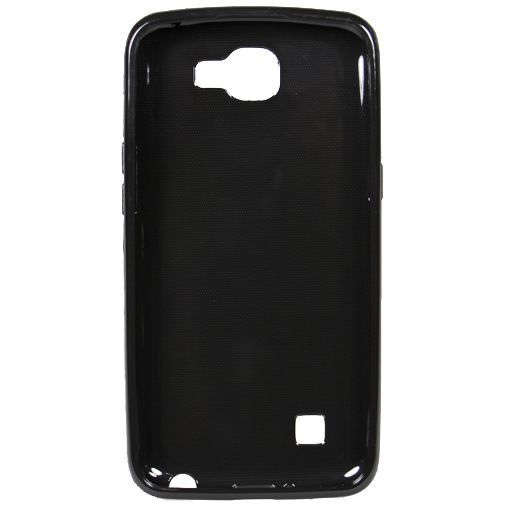 Productafbeelding van de Mobiparts Essential TPU Case Black LG K4