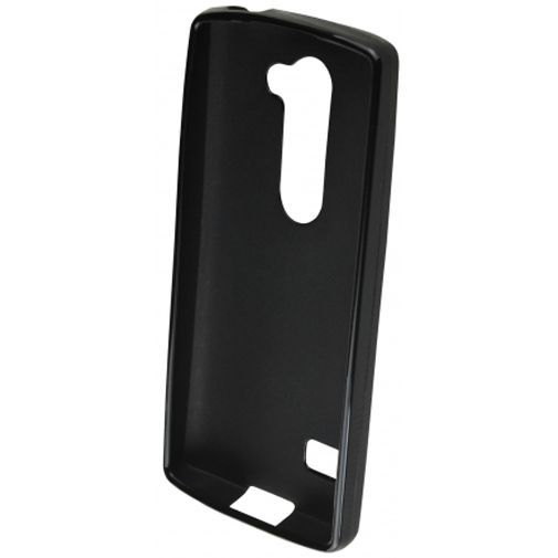 Productafbeelding van de Mobiparts Essential TPU Case Black LG Leon