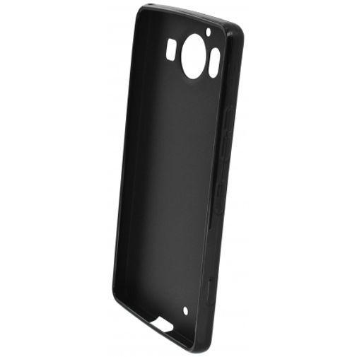Productafbeelding van de Mobiparts Essential TPU Case Black Microsoft Lumia 950
