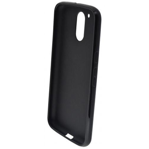 Produktimage des Mobiparts Essential TPU Hülle Schwarz Motorola Moto G4/G4 Plus