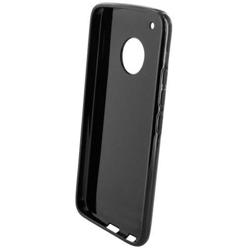 Productafbeelding van de Mobiparts Essential TPU Case Black Motorola Moto G5 Plus
