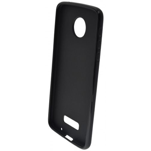 Productafbeelding van de Mobiparts Essential TPU Case Black Motorola Moto Z