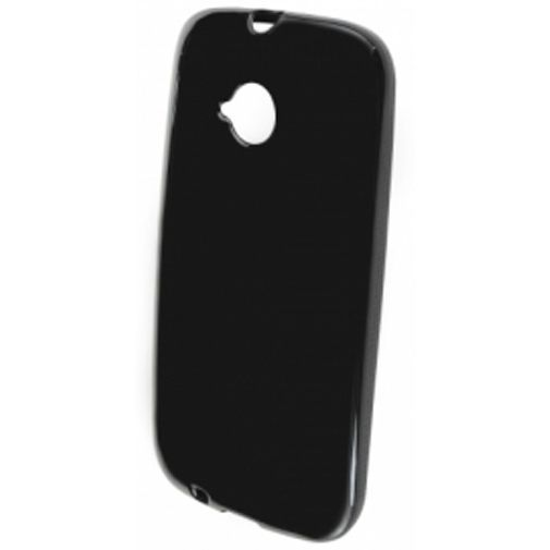 Productafbeelding van de Mobiparts Essential TPU Case Black Motorola New Moto E