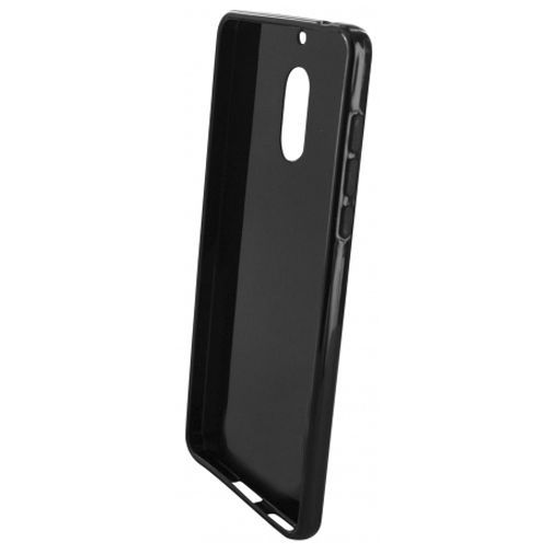 Productafbeelding van de Mobiparts Essential TPU Case Black Nokia 6