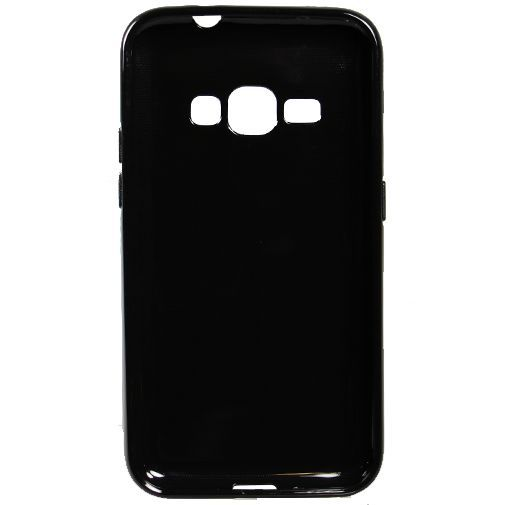 Productafbeelding van de Mobiparts Essential TPU Case Black Samsung Galaxy J1 (2016)