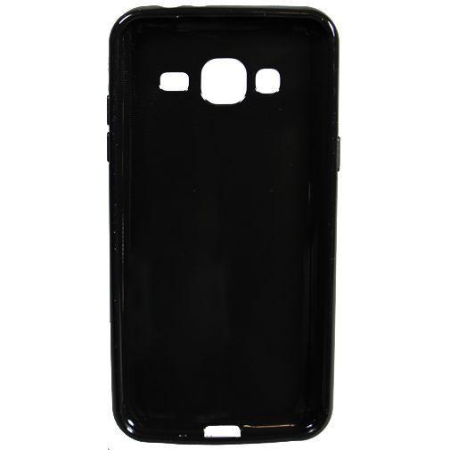 Productafbeelding van de Mobiparts Essential TPU Case Black Samsung Galaxy J3 (2016)