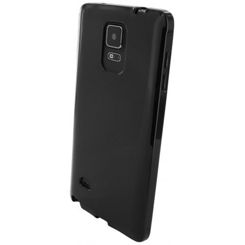 Productafbeelding van de Mobiparts Essential TPU Case Black Samsung Galaxy Note 4