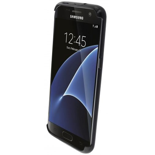 Productafbeelding van de Mobiparts Essential TPU Case Black Samsung Galaxy S7 Edge