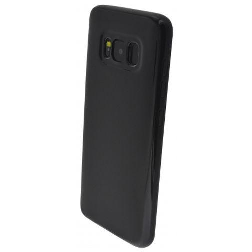 Productafbeelding van de Mobiparts Essential TPU Case Black Samsung Galaxy S8