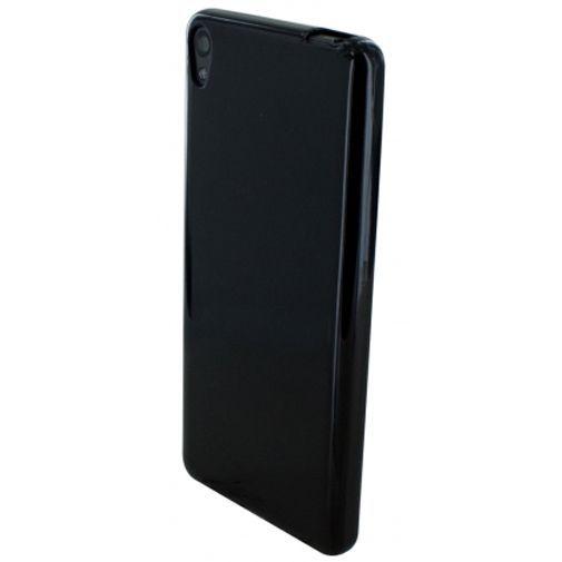 Productafbeelding van de Mobiparts Essential TPU Case Black Sony Xperia E5