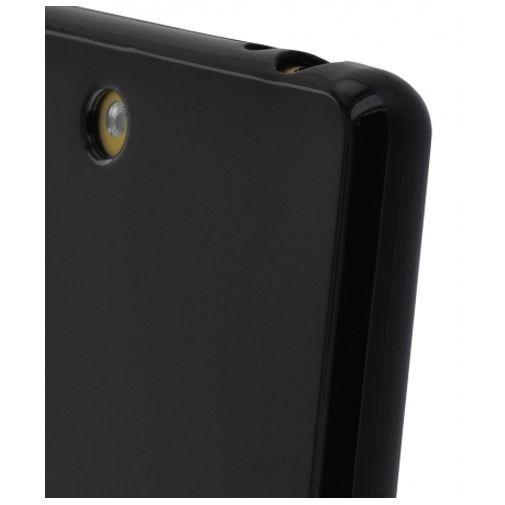 Productafbeelding van de Mobiparts Essential TPU Case Black Sony Xperia M5
