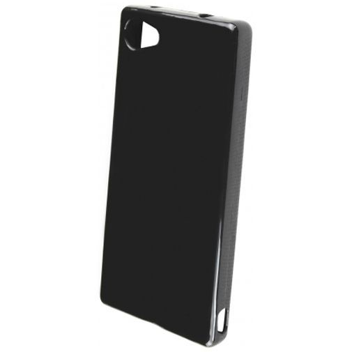 Mobiparts Essential TPU Case Black Sony Xperia Z5 Compact