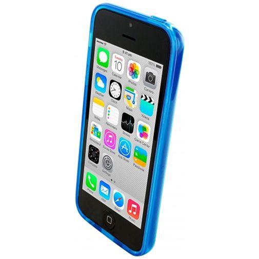 Productafbeelding van de Mobiparts Essential TPU Case Blue Apple iPhone 5C