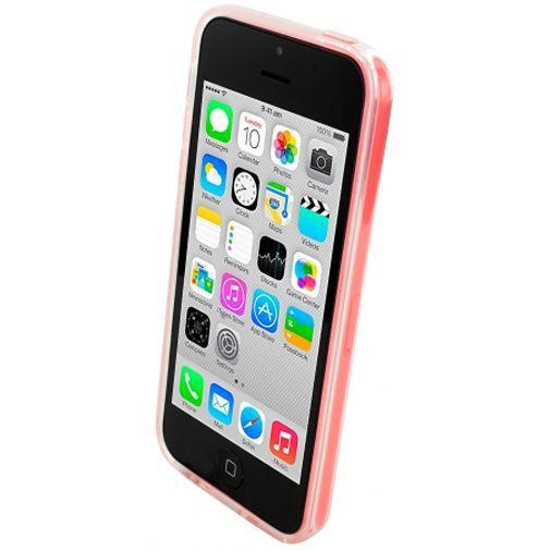 Productafbeelding van de Mobiparts Essential TPU Case Transparant Apple iPhone 5C