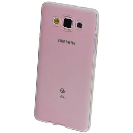 Productafbeelding van de Mobiparts Essential TPU Case Transparant Samsung Galaxy A5