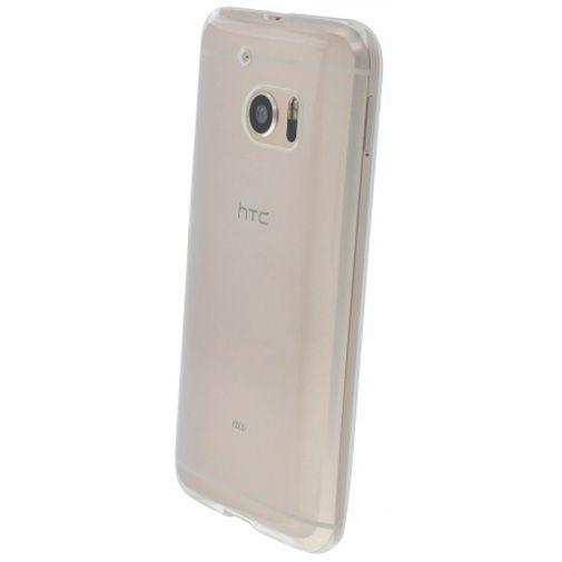 Productafbeelding van de Mobiparts Essential TPU Case Transparent HTC 10 (Lifestyle)