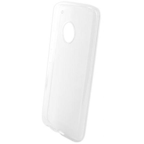 Productafbeelding van de Mobiparts Essential TPU Case Transparent Motorola Moto G5 Plus