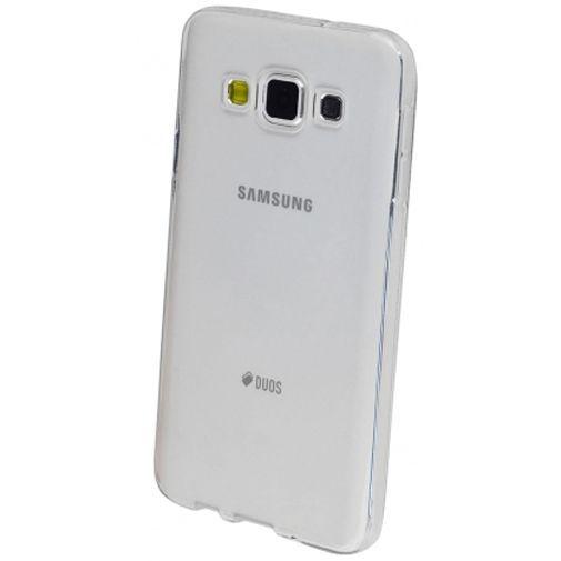 Productafbeelding van de Mobiparts Essential TPU Case Transparent Samsung Galaxy A3