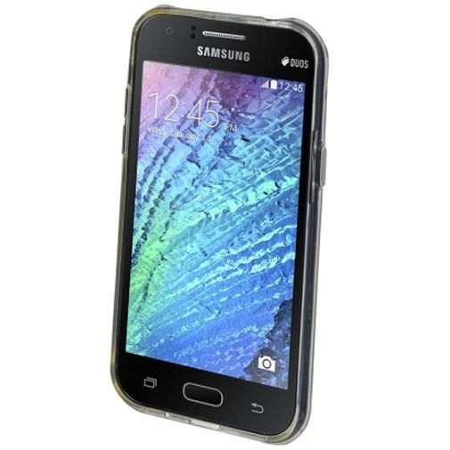 Productafbeelding van de Mobiparts Essential TPU Case Transparent Samsung Galaxy J1