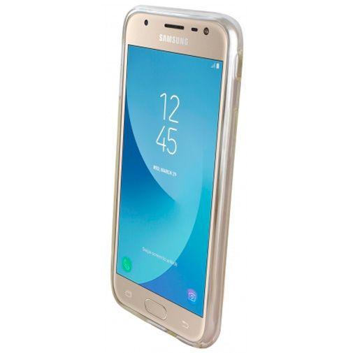 Produktimage des Mobiparts Essential TPU Hülle Transparent Samsung Galaxy J3 (2017)