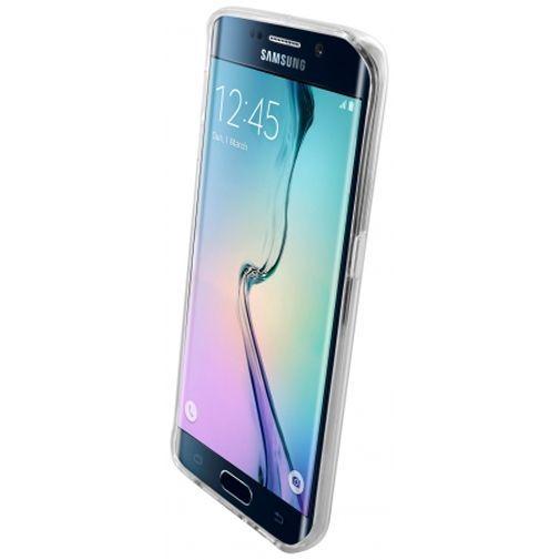 Productafbeelding van de Mobiparts Essential TPU Case Transparent Samsung Galaxy S6 Edge