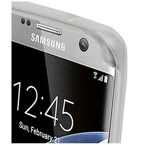 Productafbeelding van de Mobiparts Essential TPU Case Transparent Samsung Galaxy S7 Edge