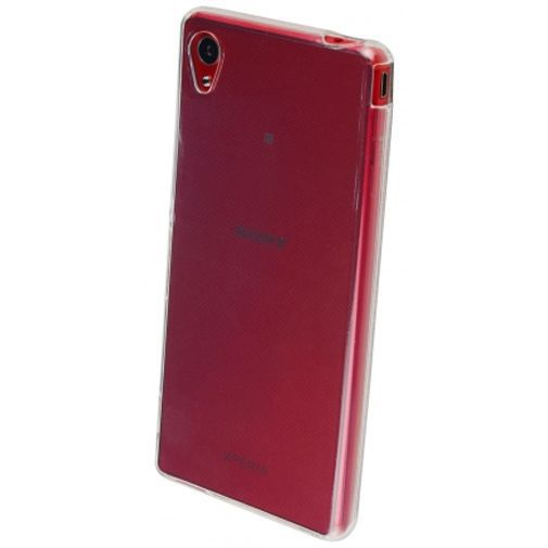 Productafbeelding van de Mobiparts Essential TPU Case Transparent Sony Xperia M4 Aqua