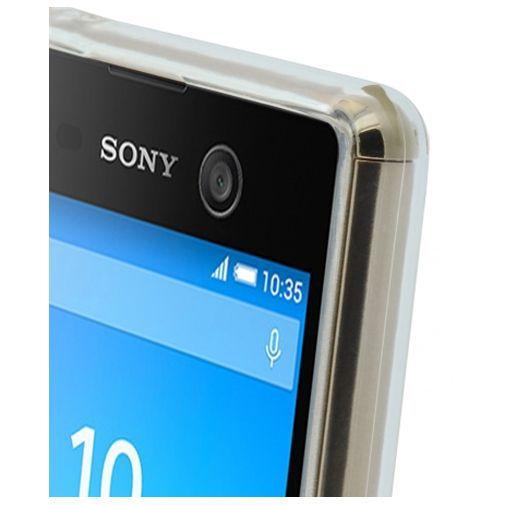 Productafbeelding van de Mobiparts Essential TPU Case Transparent Sony Xperia M5