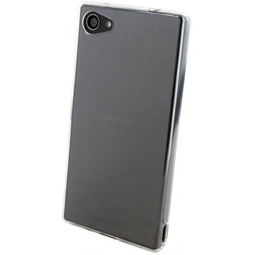 Productafbeelding van de Mobiparts Essential TPU Case Transparent Sony Xperia Z5 Compact