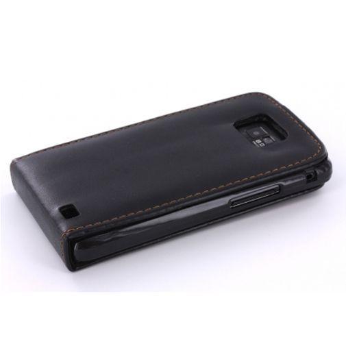 Productafbeelding van de Mobiparts Flip Case Black Samsung Galaxy SII