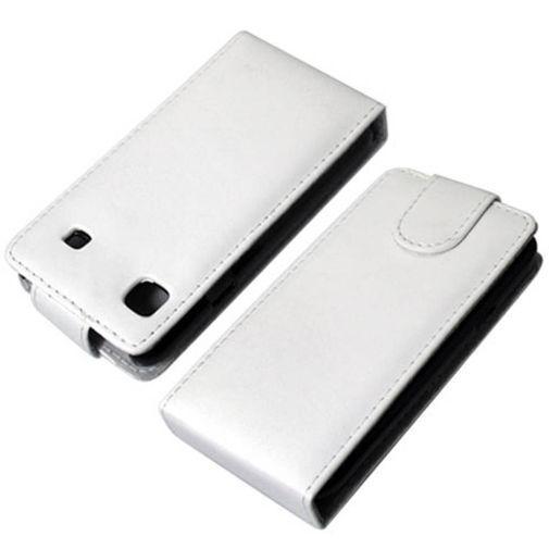 Productafbeelding van de Mobiparts Flip Case White HTC Sensation & XE