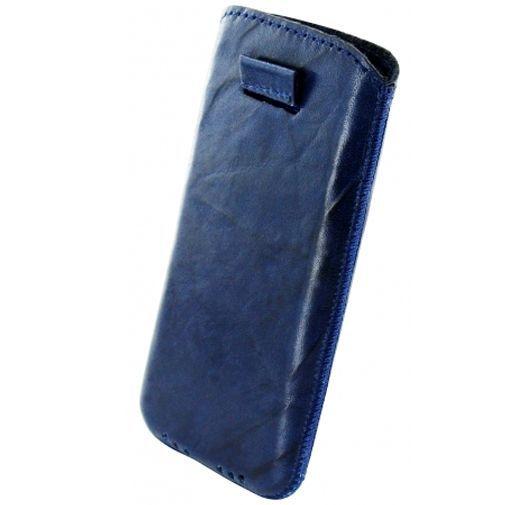 Productafbeelding van de Mobiparts Luxery Pouch Nokia Lumia 620 Navy