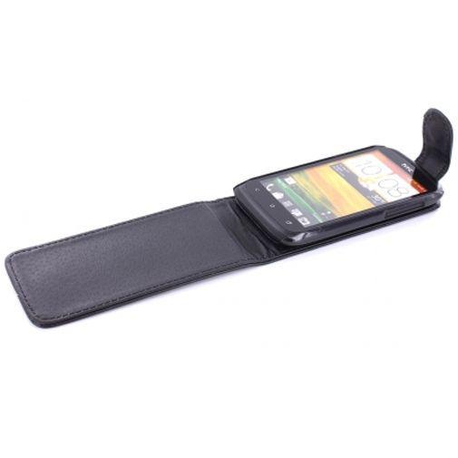 Productafbeelding van de Mobiparts PU Flip Case HTC Desire X
