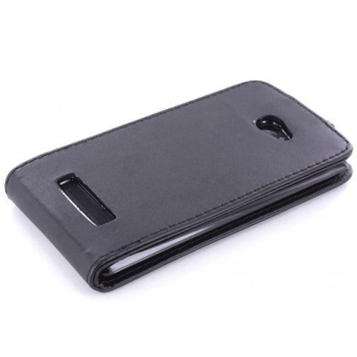 Productafbeelding van de Mobiparts PU Flip Case HTC Windows 8X Black