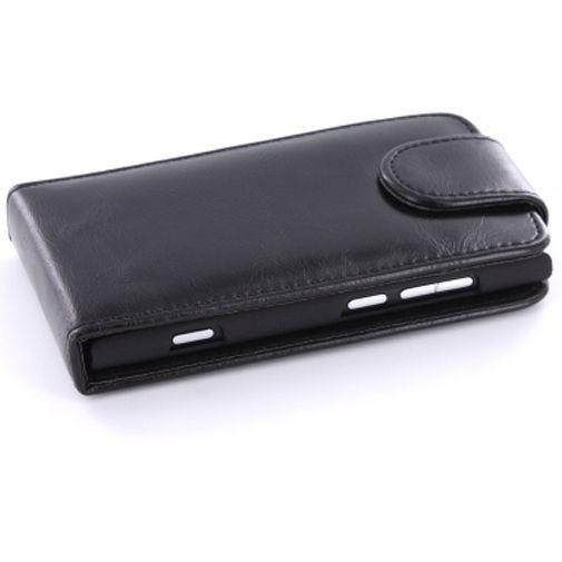 Productafbeelding van de Mobiparts PU Flip Case Nokia Lumia 800 Black