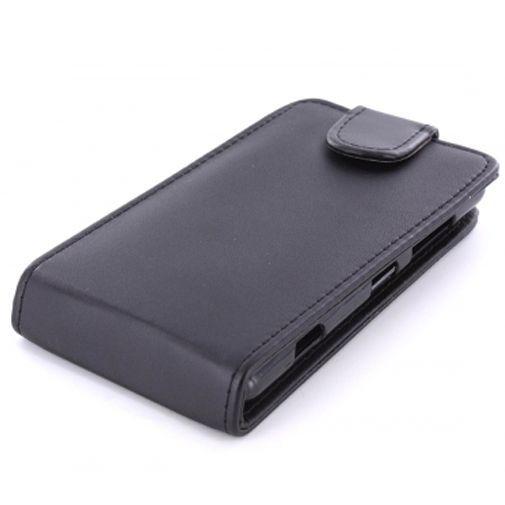 Productafbeelding van de Mobiparts PU Flip Case Nokia Lumia 820 Black