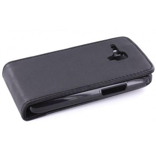 Productafbeelding van de Mobiparts PU Flip Case Samsung S7562 Galaxy S Duos Black